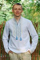 Мужская вышитая рубашка М18-115, фото 1