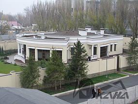 Частный дом в г. Днепропетровске. Битумная черепица 1