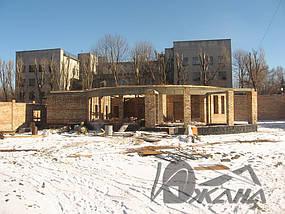 Частный дом в г. Днепропетровске. Битумная черепица 2