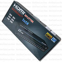Сплиттер HDMI 1x16, 1 гнездо HDMI - 16 гнезд HDMI, 1.4V, DC-5V