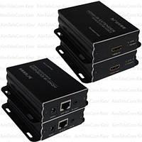 Устройство для передачи HDMI  по кабелю витая пара до 50 метров (MT-ED05IR)
