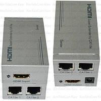 Устройство для передачи HDMI  по кабелю витая пара до 60м (MT-ED03)
