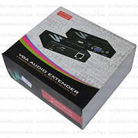Удлинитель VGA по кабелю витая пара CAT 5e / CAT 6 до 50м, MT-50T MT-Viki