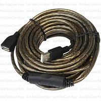 Удлинитель USB  с кабелем 10м