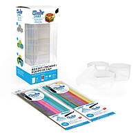 Набір стержнів Шаблони 3DoodlerCreate Canvas Kit, Keepsake Box 3 для 3D-ручки 50шт (3DOOD-BOXCAN) B072BBNSY3