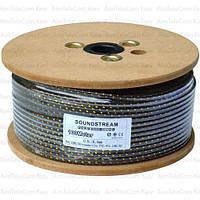 Кабель инструменальный Sound Stream 1 жила, 20×0.12мм, Cu, Ø6мм, сетка, 100м