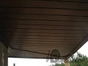 Частный дом в пос. Кировское Днепропетровской области. Металлоконструкции и битумная черепица 4