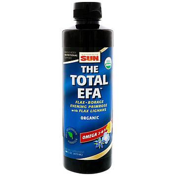 Health From The Sun, Total EFA, омега 3-6-9, 16 ж. унц. (473 мл)