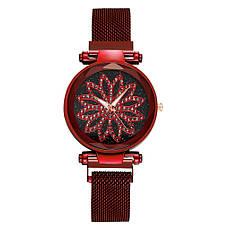 Жіночі наручні годинники на магнітній застібці (різні кольори), фото 3