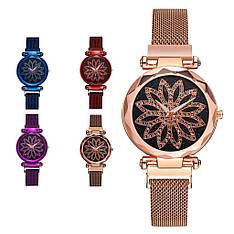 Женские наручные часы на магнитной застежке (разные цвета)