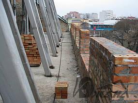 Здание по ул. Московская, 3 в г. Днепропетровске. Омедненная битумная черепица. 1