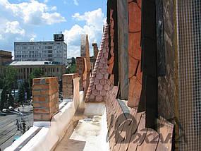 Здание по ул. Московская, 3 в г. Днепропетровске. Омедненная битумная черепица. 3