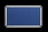 Доска текстильная, в алюминиевой рамке S-line – 1000x650 мм; код – 146510 (синяя)
