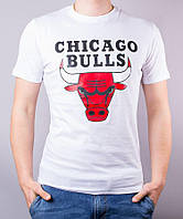 Футболка Chicago Bulls logo | топ