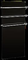 Полотенцесушитель стеклокерамический HGlass 5010 B Premium (черный) с программатором