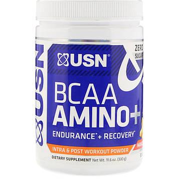 USN, BCAA Aminos Plus, Mango Pineapple, 11.6 oz (330 g)