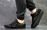 Мужские кроссовки Reebok Classic Black, черные. Код товара : KS 288