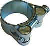 Силовой хомут W1 Ø26-28мм стальной ЦБ