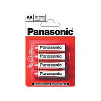 Батарейки пальчиковые R06 Panasonic Sp. бл.4 (240/48) Артикул: 01776