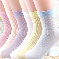 Тонкие летние носочки детские носки