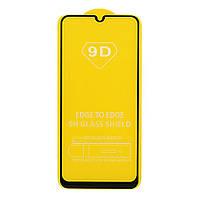9D Full Glue защитное стекло для Samsung Galaxy A30 Black (клеится вся поверхность)