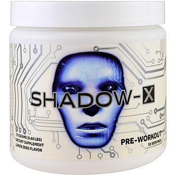 Cobra Labs, Shadow-X, предварительная тренировка, не содержит лимонного наполнителя, 270 г (0,60 фунта)