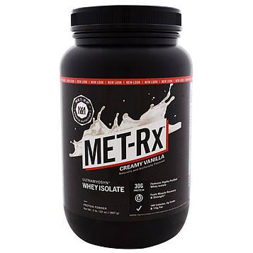MET-Rx, Ultramyosyn Whey Isolate, Creamy Vanilla, 32 oz (907 g)