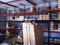Оборудование для склада и стеллажи