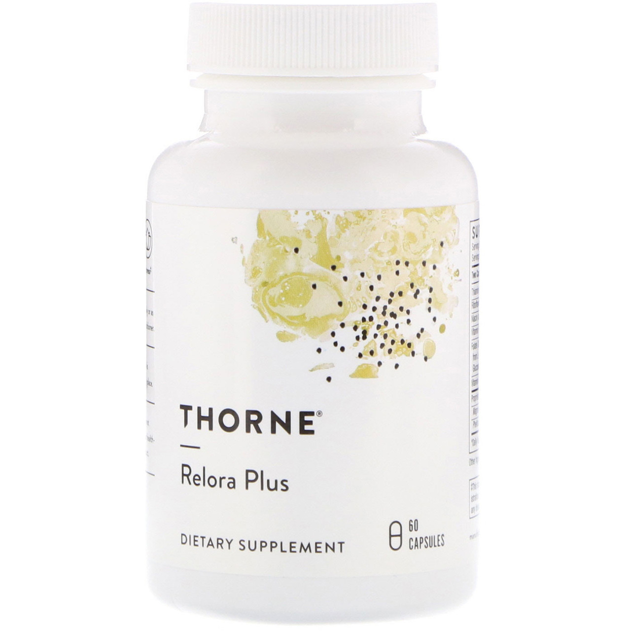 Thorne Research, Relora Plus, 60 капсул