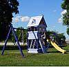Детская площадка Fusion + 2 модуля Качели для улицы