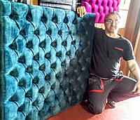 Мягкие панели на стену в каретной стяжке