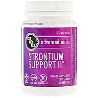 Advanced Orthomolecular Research AOR, Strontium Support II, 120 Vegi-Caps