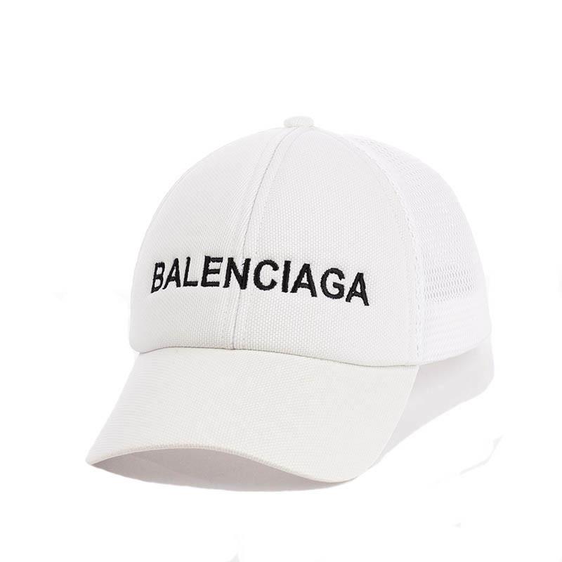 Кепка- бейсболка с сеткой и вышивкой Balenciaga