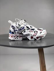 Женские кроссовки в стиле Reebok Insta Pump x Vetements (41, 42, 43, 44, 45 размеры)