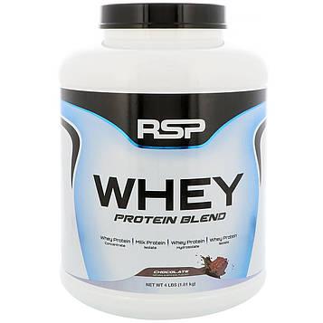 RSP Nutrition, Смесь сывороточного протеина, шоколад, 4 фунта (1,81 кг)