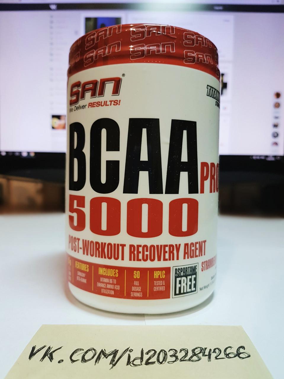 SAN BCAA Pro 5000 340g 50 порций