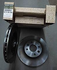 Комплект вентильованих гальмівних дисків Dacia Logan MCV (оригінал)