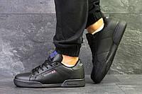 Мужские кроссовки Reebok Classic Black, черные. Код товара : KS 615