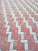 """Тротуарная плитка """"Кирпич"""" цветной, 30мм, 200х100мм"""