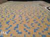 """Тротуарная плитка """"Кирпич"""" синий, 30мм, 200х100мм"""