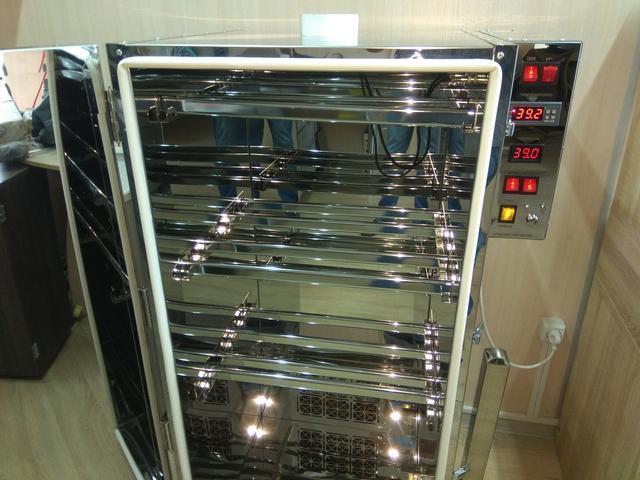 Универсальная коптильня  из нержавейки  COSMOGEN CSHI-1250 WiFi  холодного/горячего копчения с функцией сушки