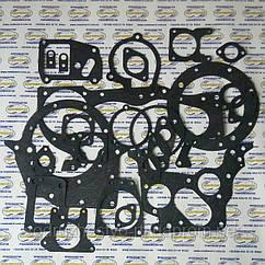 Набор прокладок для ремонта двигателя Д-245 трактор МТЗ (прокладка паронит 0.8 мм.) (малый набор)