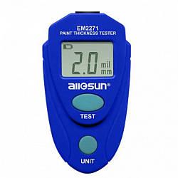 Толщиномер Allosun ЕМ2271 ОРИГИНАЛ |лкп проверка лако красочного