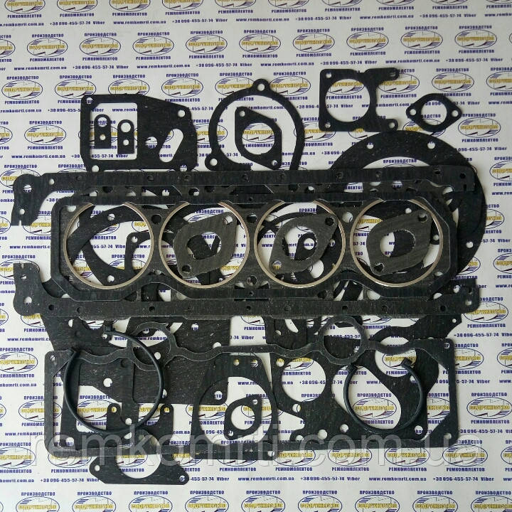 Набор прокладок для ремонта двигателя Д-240 трактор МТЗ (полный паронит) Элит