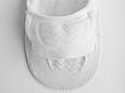Носки-следы хлопковые со специальной силиконовой вставкой в области пятки Белый, 27 / L / 41-43, фото 2