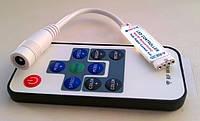 RGB контроллер 12A RF 144W 12V (10 кнопок) mini с управлением по RF каналу для светодиодной ленты., фото 1