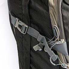 Туристический рюкзак с жесткой спинкой нейлон Royal Mountain 1182 черный-серый, фото 2