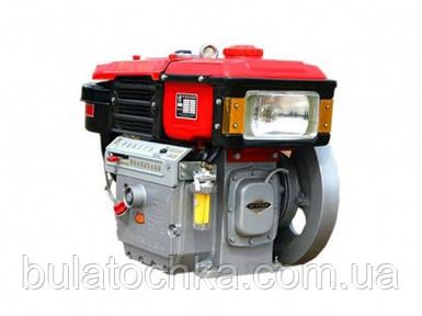 Двигатель дизельный Булат R192NE, дизель 12 л.с. с водяным охлаждением, Электростартер, ЗИП.