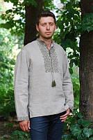 Мужская рубашка с вышивкой М08-236
