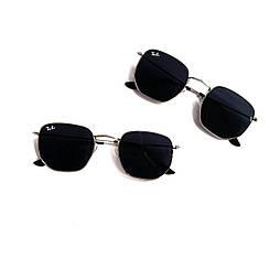 Многоугольные черные очки Ray Ban v9955